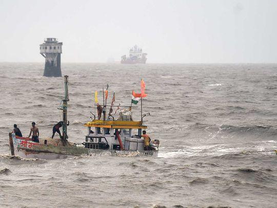 Fishermen cyclone india