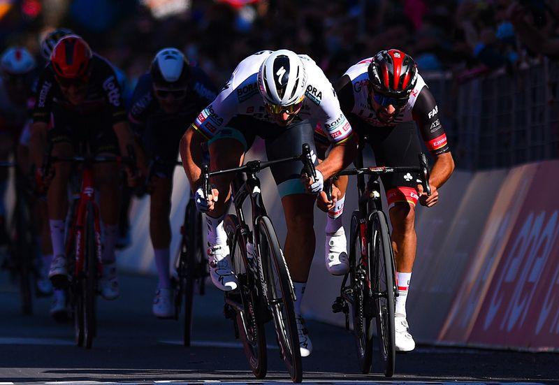 Giro d'Italia:  Fernando Gaviria in the hunt for first win of the season