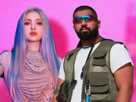 K-Pop star AleXa and Kuwaiti-Saudi artist Bader Al Shuaibi