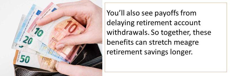 Retirement late
