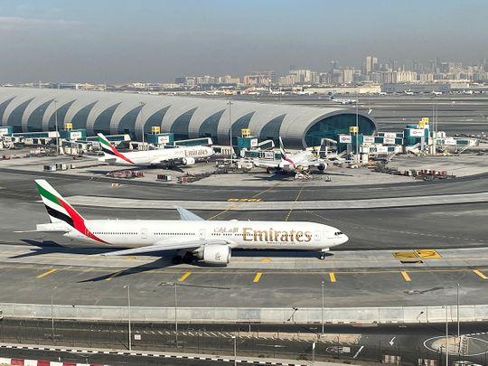 Stock Dubai Airport