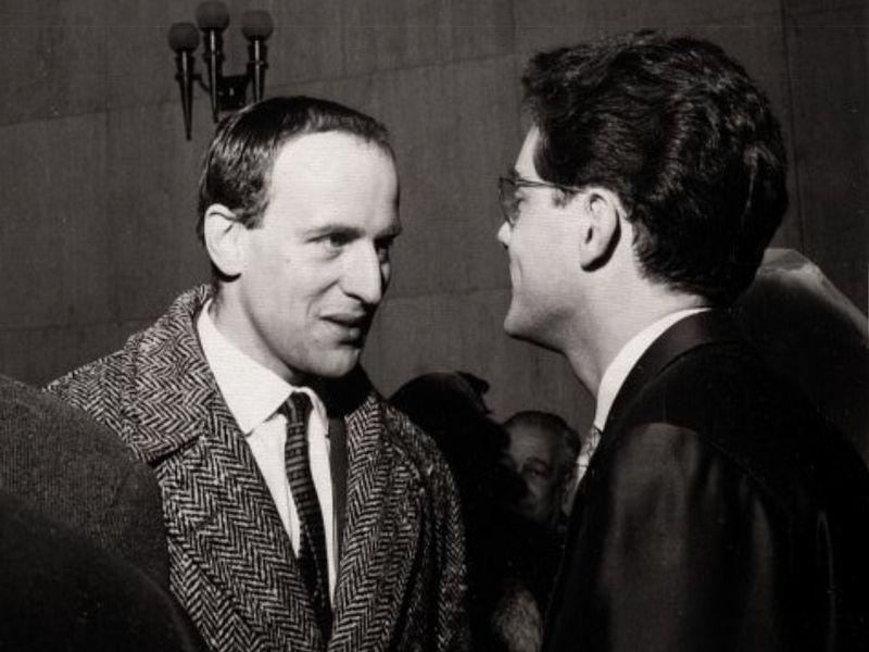Boris Vian and Michel Legrand, 1958