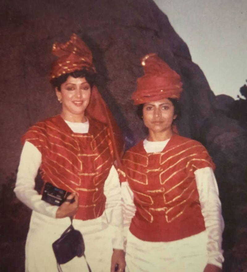 Hema Malini and Reshma Pathan
