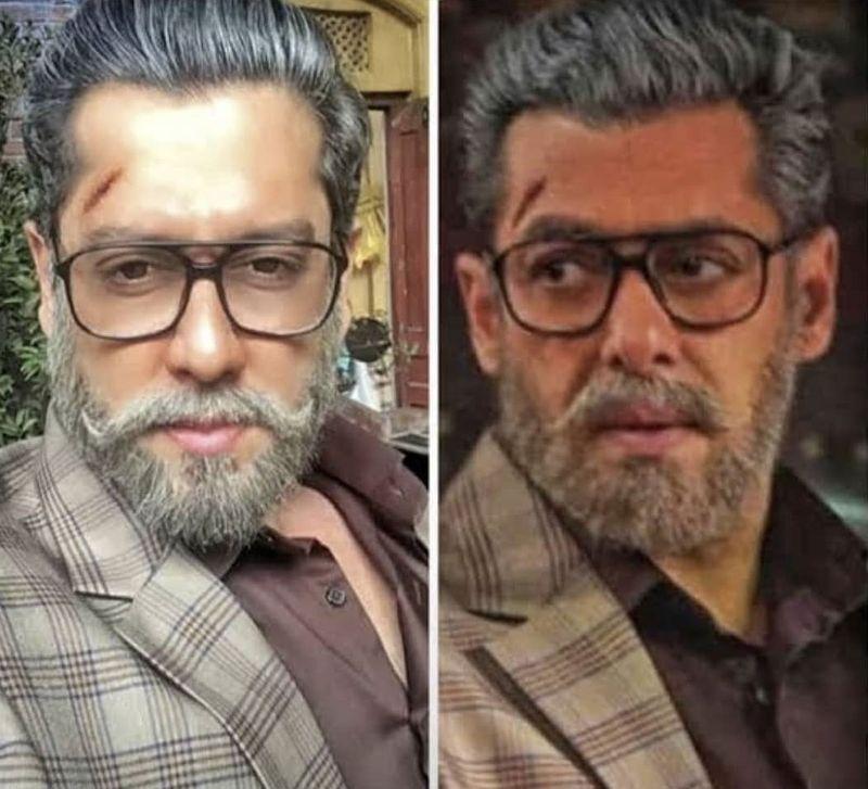 Salman Khan and Parvez Kazi