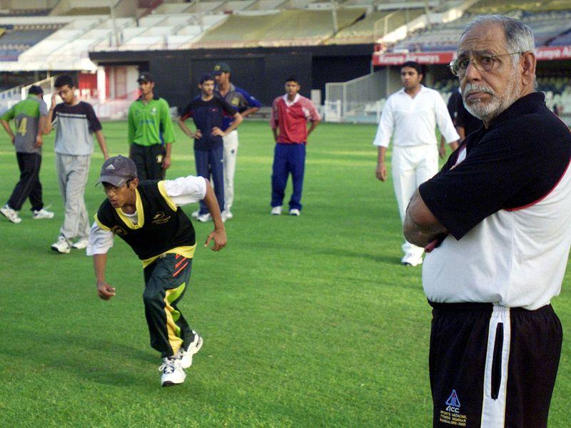 Veteran cricketer Abi Ali