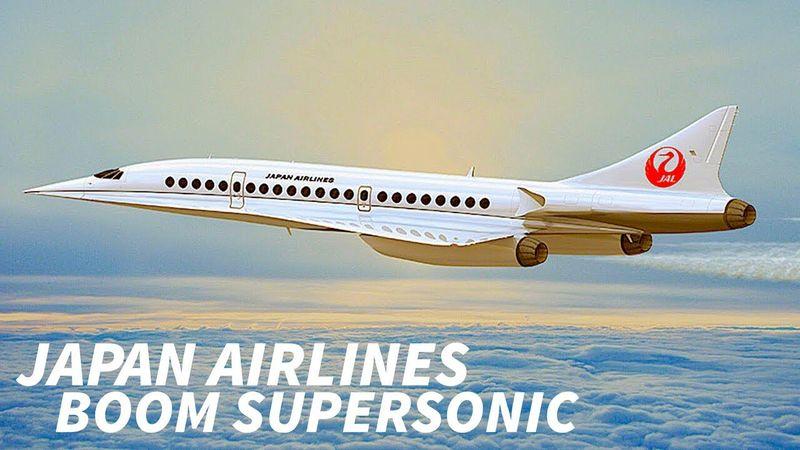 Boom Overture supersonic