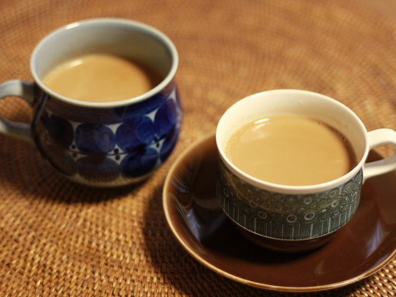 Chai or tea time at home is a ritual