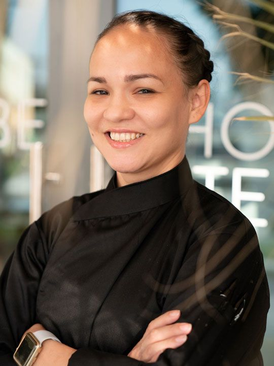 Chef Luisa Fernanda Caicedo, Mondoux restaurant