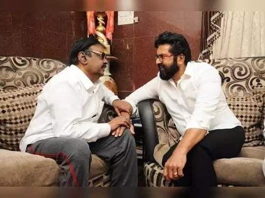 Vijayakanth and Sarath Kumar