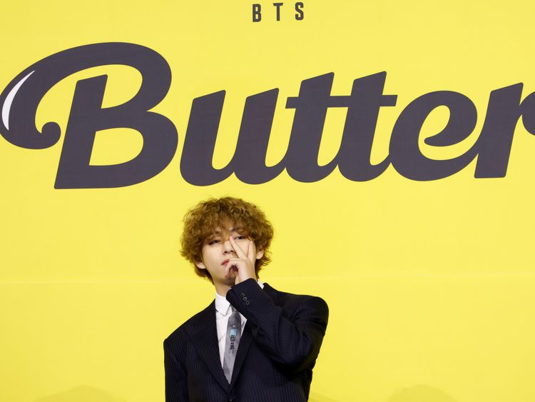 BTS Butter V-1621591467744
