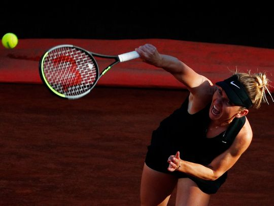 Simona Halep is out of the French Open