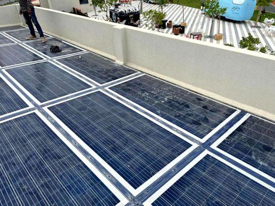 Stock - Solar Panel
