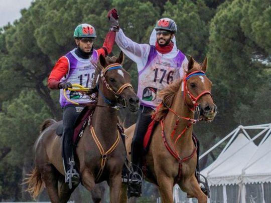 UAE endurance pair