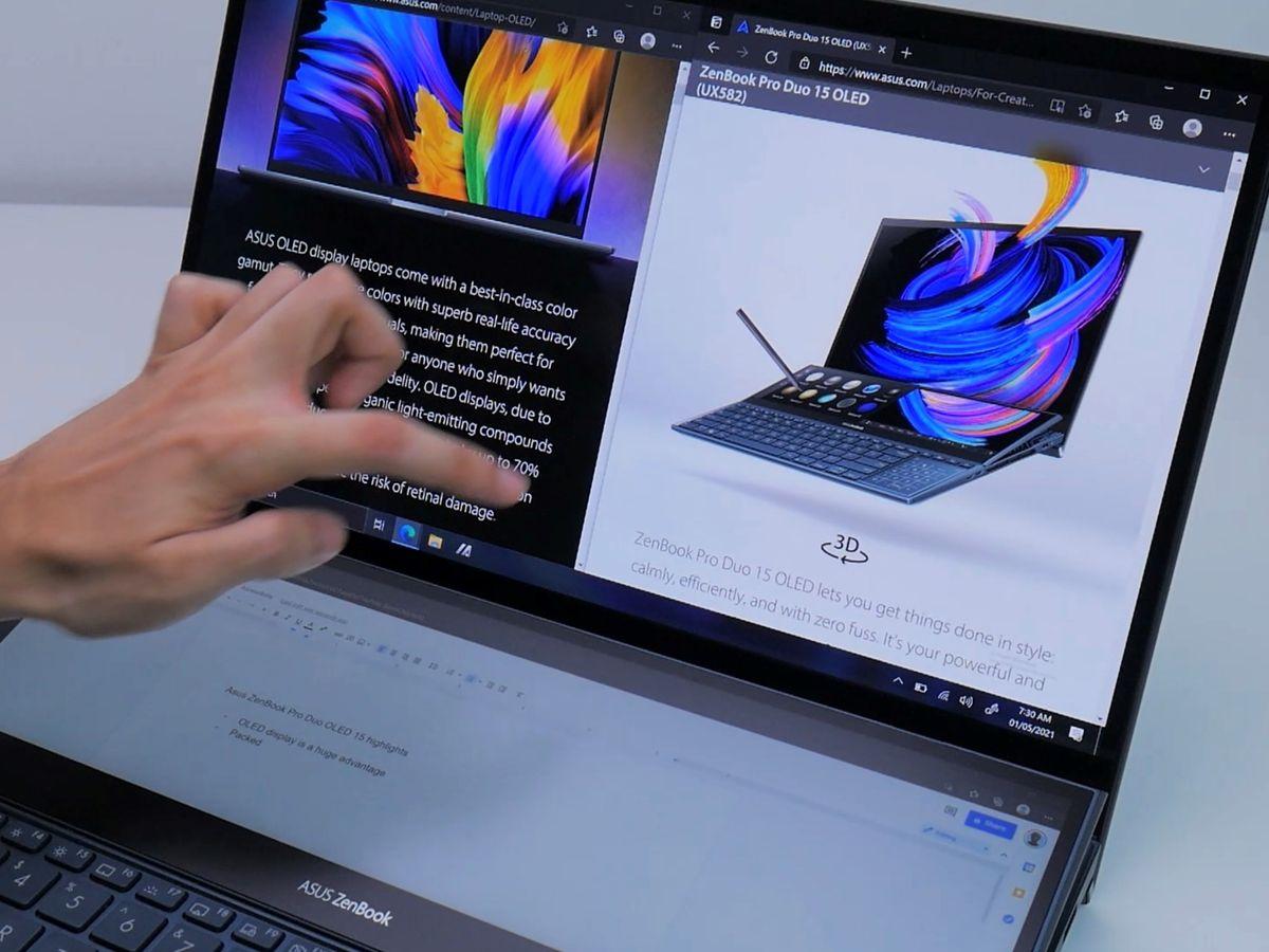 Asus Zenbook Pro Duo OLED