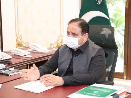 Punjab Chief Minister Usman Buzdar