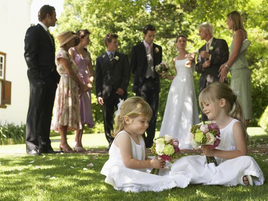 Weddings are back on in Dubai. But can young children attend?