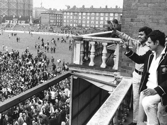 Cricket-History at Oval