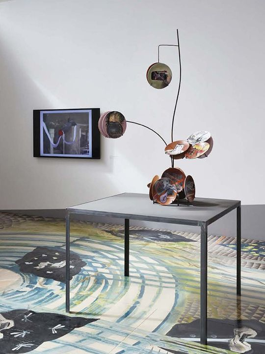 Exhibition View, Ramin Haerizadeh, Rokni Haerizadeh, Hesam Rahmanian, 2020
