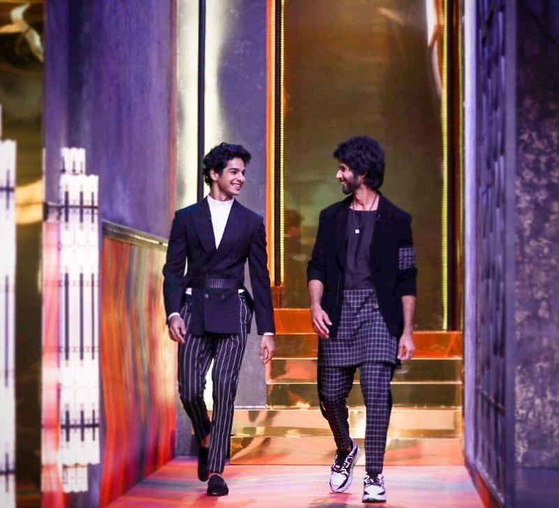Ishan Khatter and Shahid Kapoor