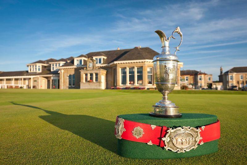 Prestwick Golf Club, where Old Tom Morris won the 1867 British Open Championship