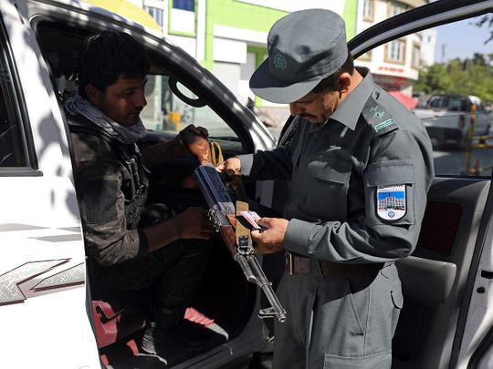 Afghan security embassy