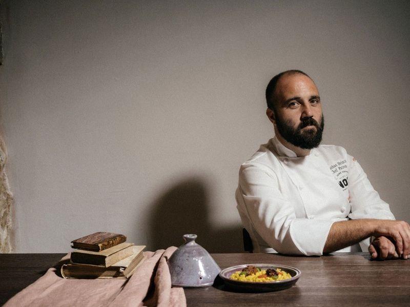 Chef Jonathan Brincat from Noni restaurant