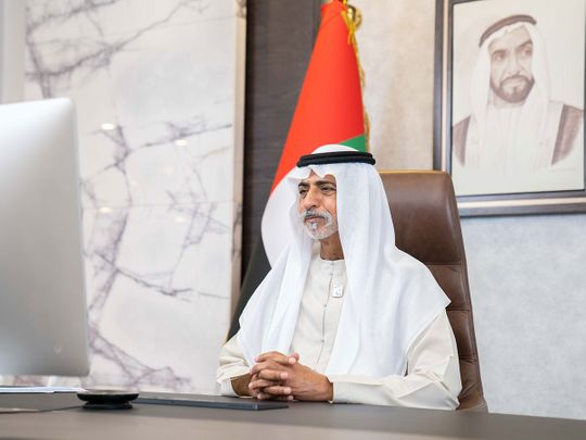 His Excellency Sheikh Nahyan bin Mubarak Al Nahyan hosts the second board meeting of the Global Commission for Tolerance in E-sports and Gaming