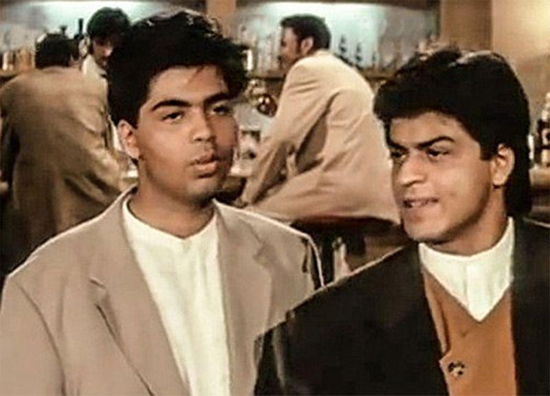 Karan Johar and Shahrukh Khan