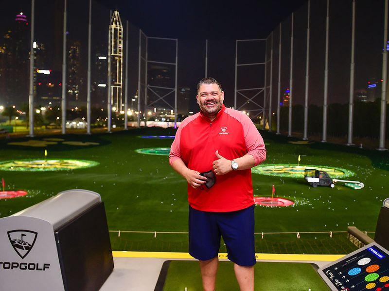 Mike Walton, Director of Operations, Topgolf Dubai