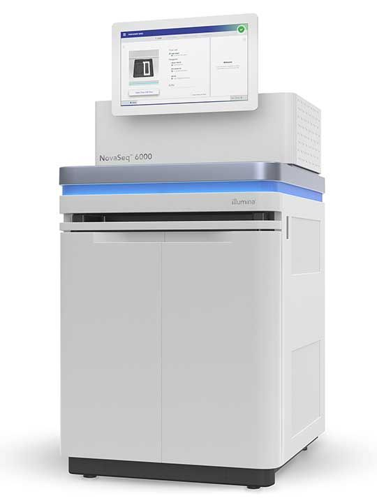 NovaSeq 6000, Illumina's most advanced and powerful sequencer