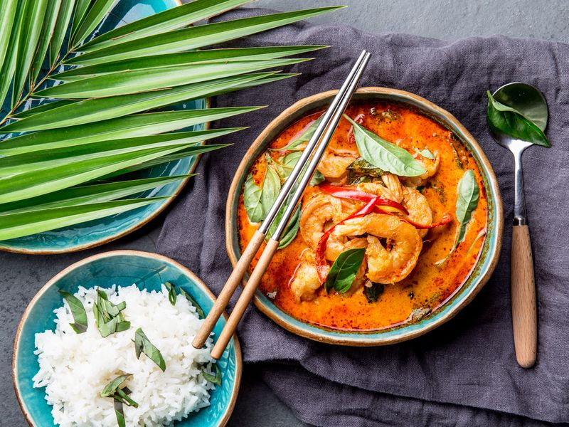 Red curry from Thailand