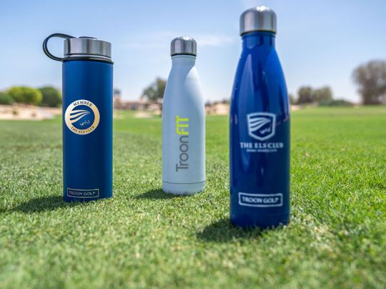 The Els Club Dubai will supply all members and guests with reusable bottles to eradicate single-use plastic