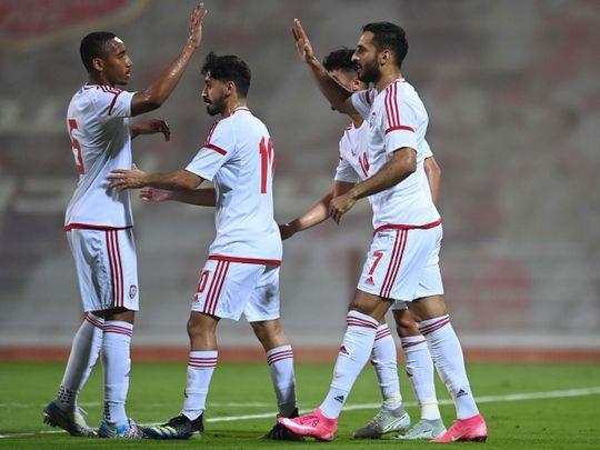 The UAE thumped Jordan 5-1