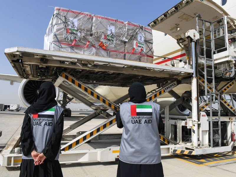UAE aid to Ethiopia