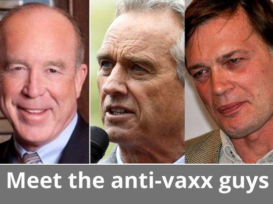 anti-vaxx guys