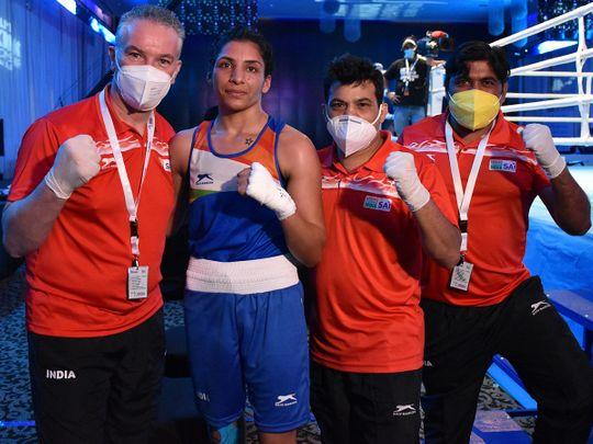 Boxing - Simran