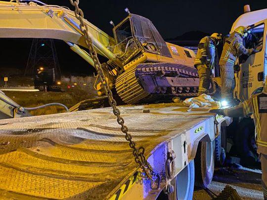 Fujairah accident