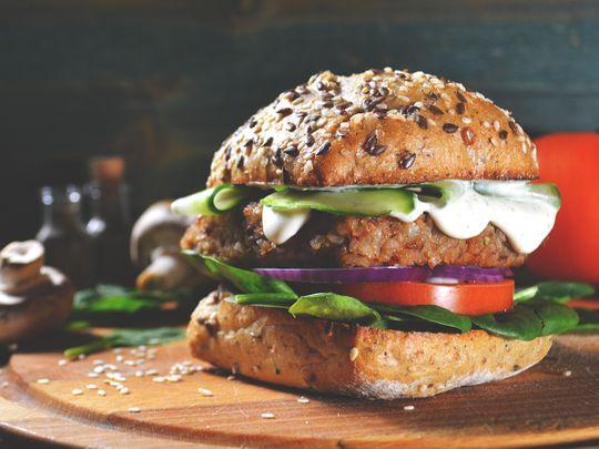 vegan-burger-stock-image