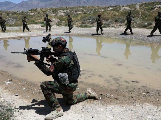 Afghan soldiers kabul