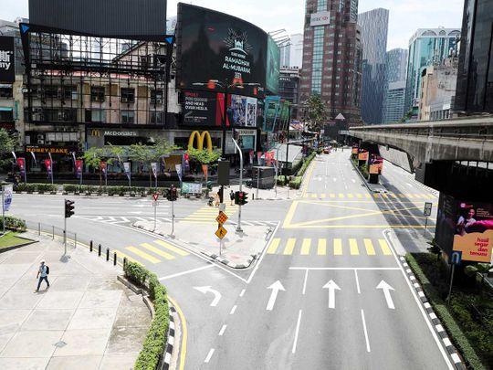 Kuala Lumpur Malaysia shutdown covid