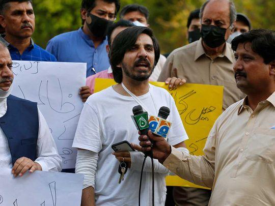Pakistani journalist Asad Ali Toor