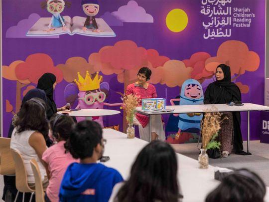 Emirati author Fatima Sultan Al Mazrouei and US-based writer, Ambika Anand Prokop-1622298249008