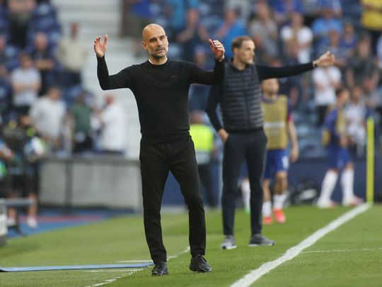 Manchester City manager Pep Guardiola was left empty-handed in the Champions League final thanks to Chelsea's Thomas Tuchel
