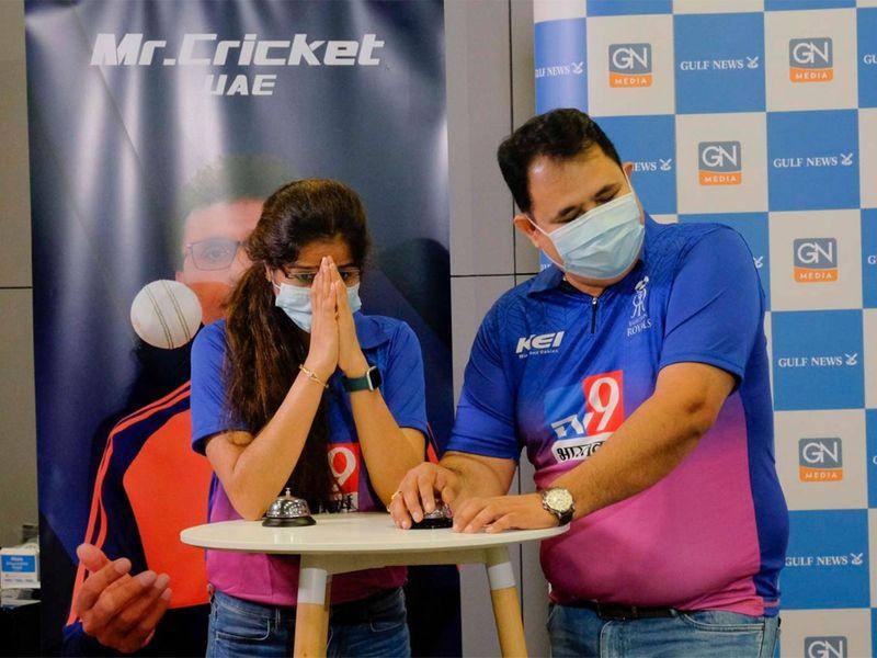 Shariq Dsilva and Manasvi Trivedi - Team Mumbai Indans