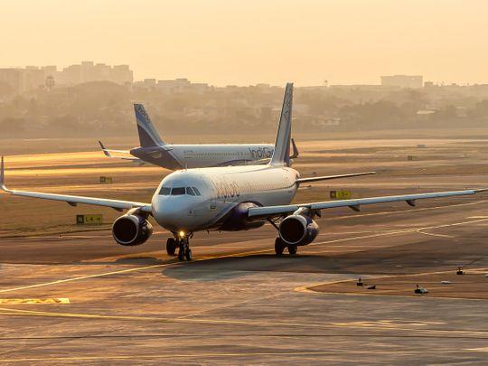 Stock India airport Indigo