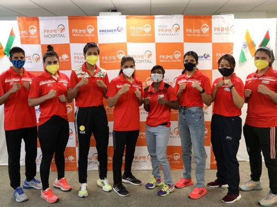 The nine-member Indian squad headed to the Summer Olympic Games in Tokyo comprises Amit Panghal (52kg) Shiva Thapa (54kg) Vikas Krishnan Yadav (69kg) Sanjeet Kumar (91kg)  Varinder Singh (75kg)  Mary Kom (51kg) Pooja Rani (75kg) Lovlina Borgohain (69kg) Simranjit Kaur (60kg)
