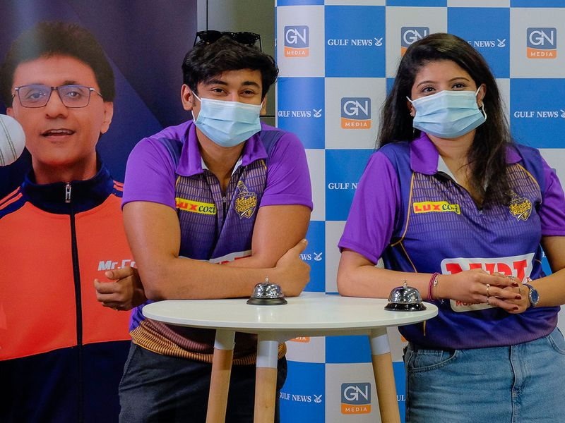 The smiles were there to be seen even behind the masks at the IPL 2021 Quiz