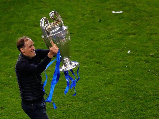 Thomas Tuchel won the Champions League with Chelsea