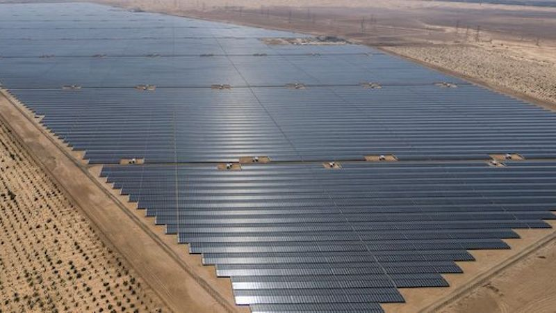 Al Dhafra Solar Abu Dhabi