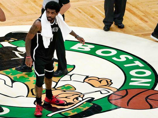 Boston Celtics' Kyrie Irving